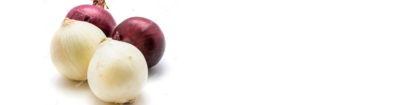 CONSUMA: Cebolla Blanca y Roja